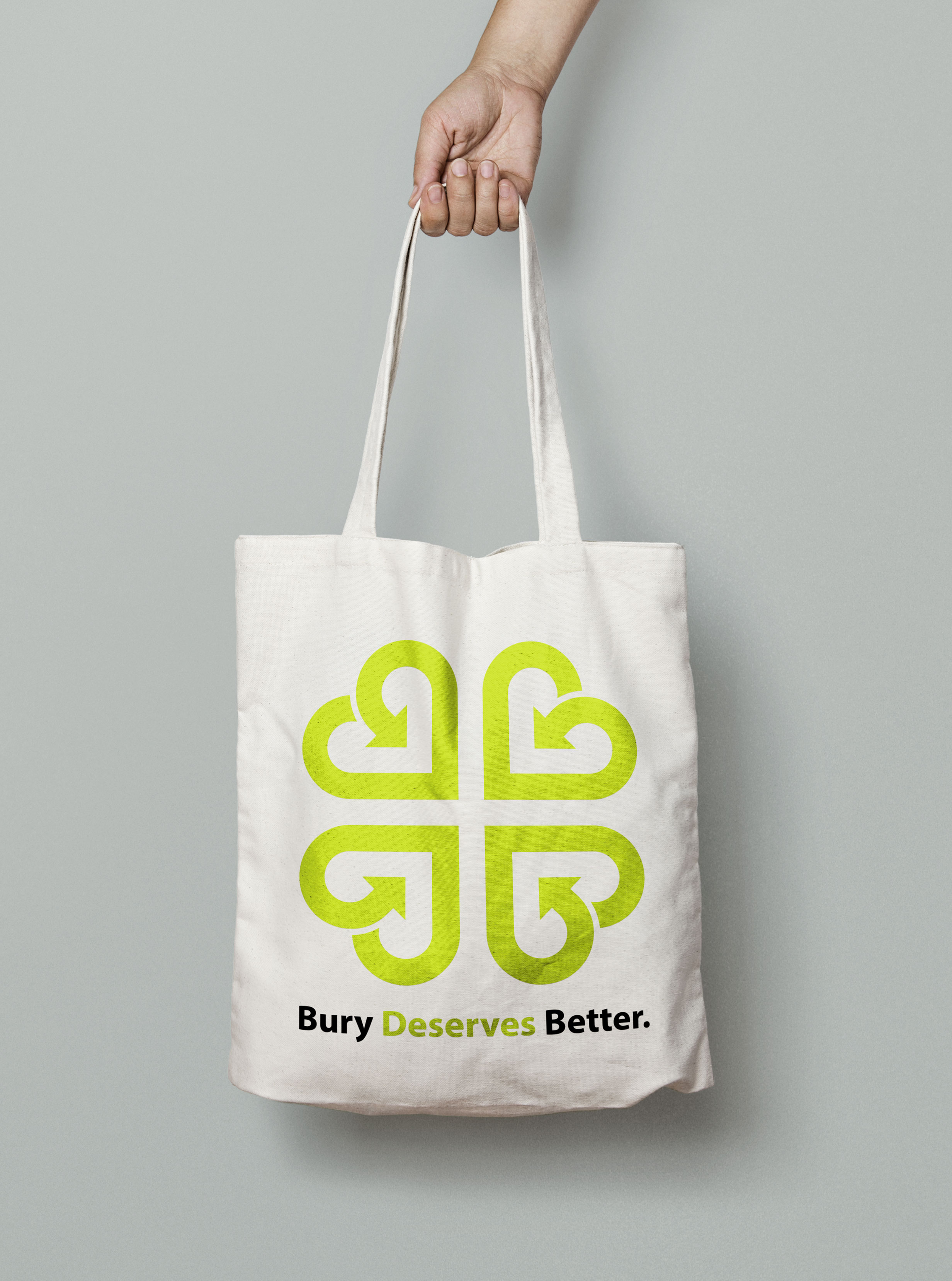 Bury Deserves Better tote bag