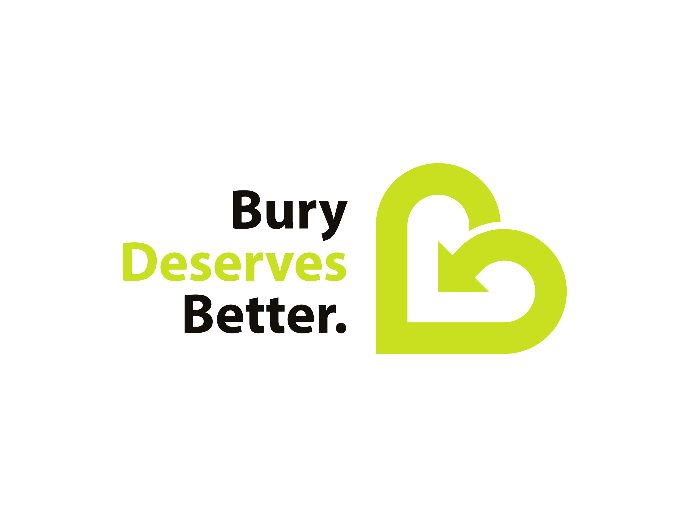 Bury Deserves Better logo